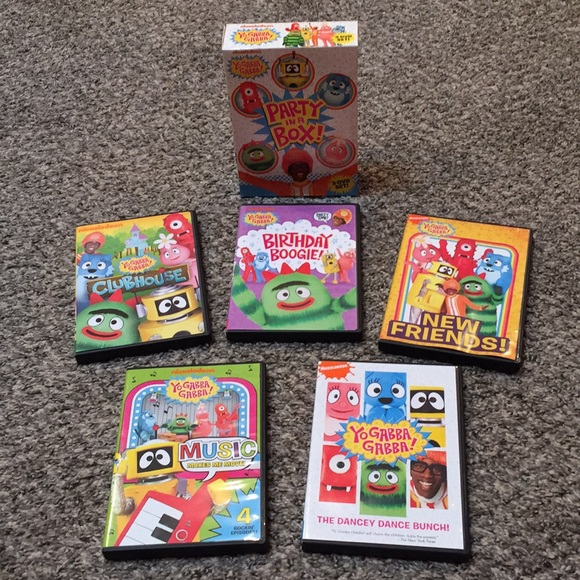 Yo Gabba Gabba! DVD Collection 📀 5 DVD Set